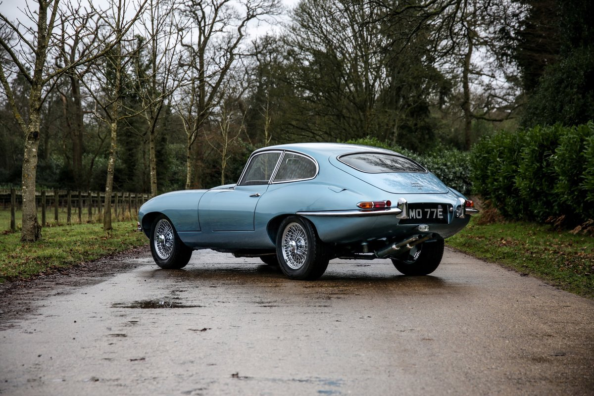 1965 Jaguar E-Type 4.2 Series 1Coupe For Sale (picture 3 of 23)
