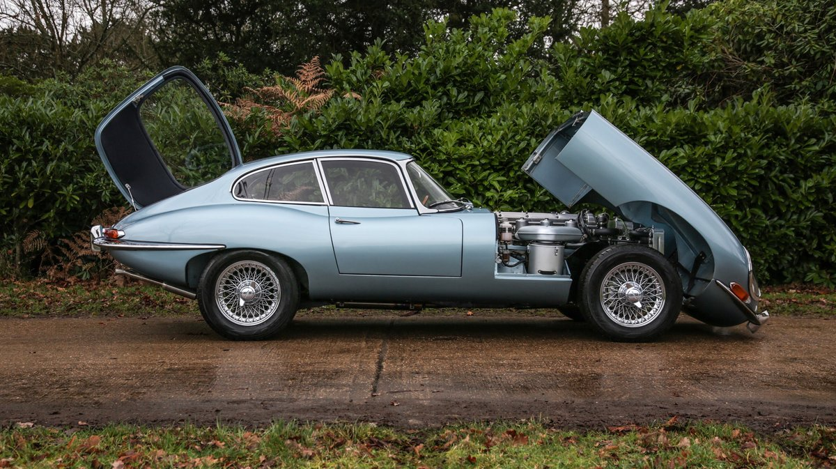 1965 Jaguar E-Type 4.2 Series 1Coupe For Sale (picture 17 of 23)
