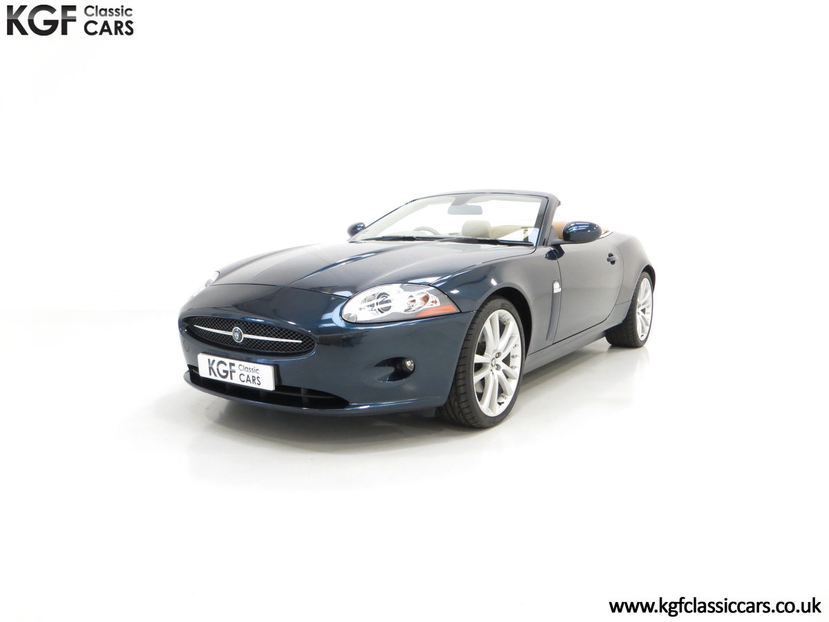 2006 A Jaguar X150 XK 4.2L V8 Convertible with Just 11,869 Miles For Sale (picture 2 of 6)