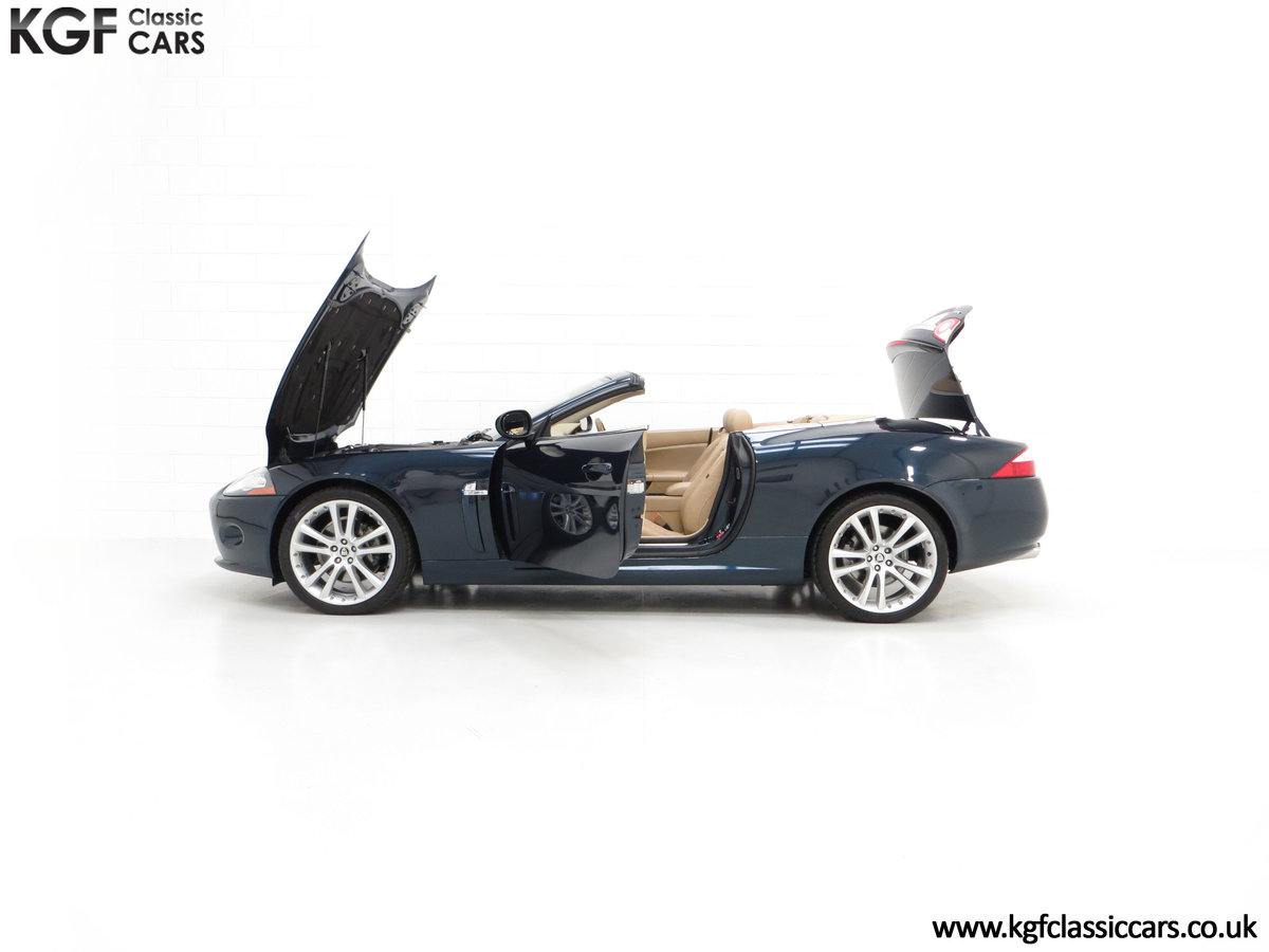 2006 A Jaguar X150 XK 4.2L V8 Convertible with Just 11,869 Miles For Sale (picture 3 of 6)