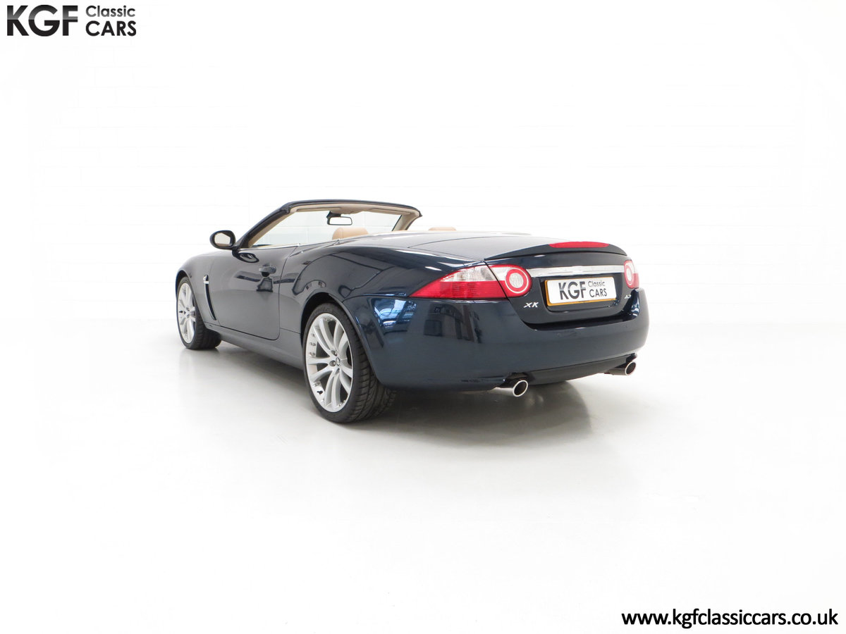 2006 A Jaguar X150 XK 4.2L V8 Convertible with Just 11,869 Miles For Sale (picture 4 of 6)