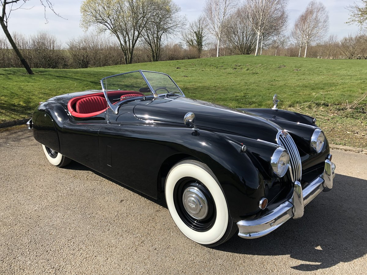 1956 Jaguar XK140 3.4 Roadster - LHD  For Sale (picture 1 of 6)