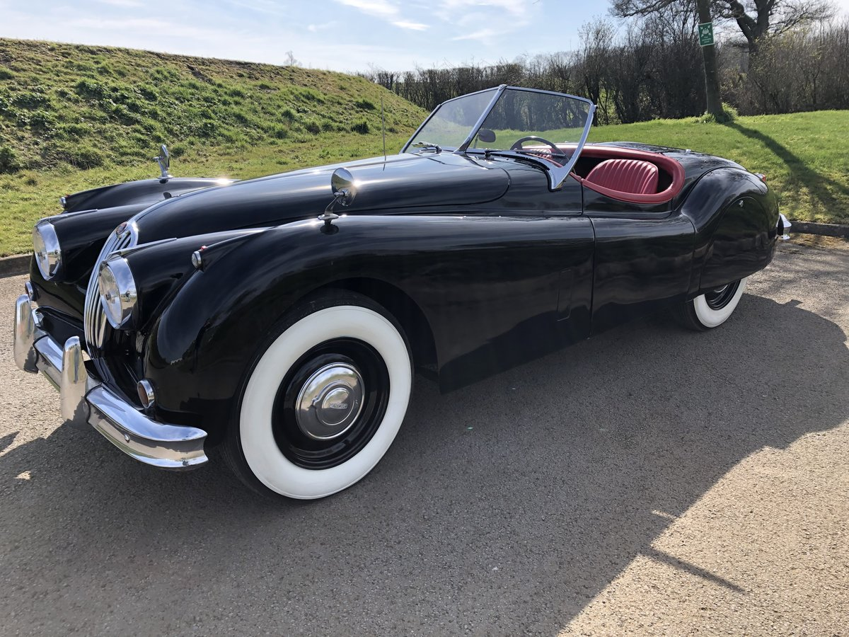 1956 Jaguar XK140 3.4 Roadster - LHD  For Sale (picture 2 of 6)