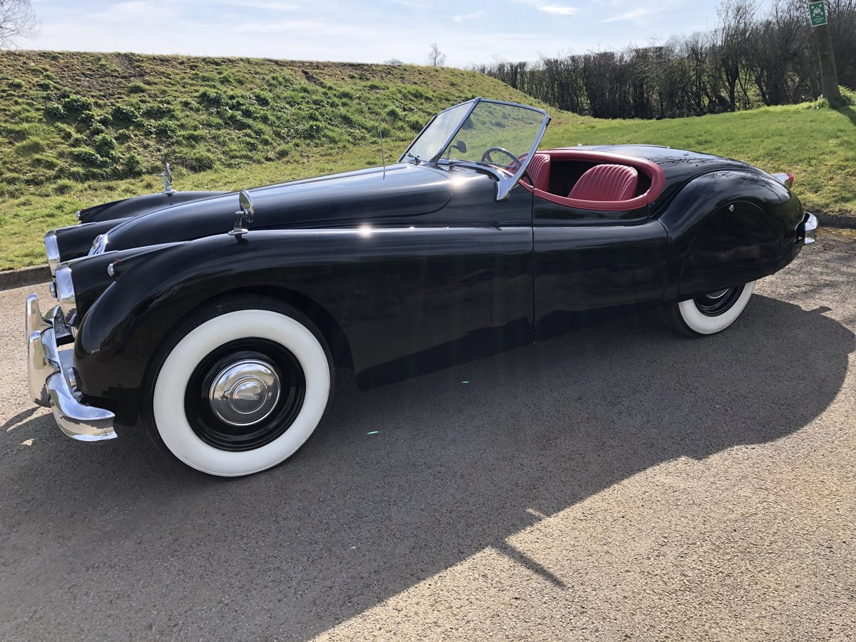 1956 Jaguar XK140 3.4 Roadster - LHD  For Sale (picture 3 of 6)