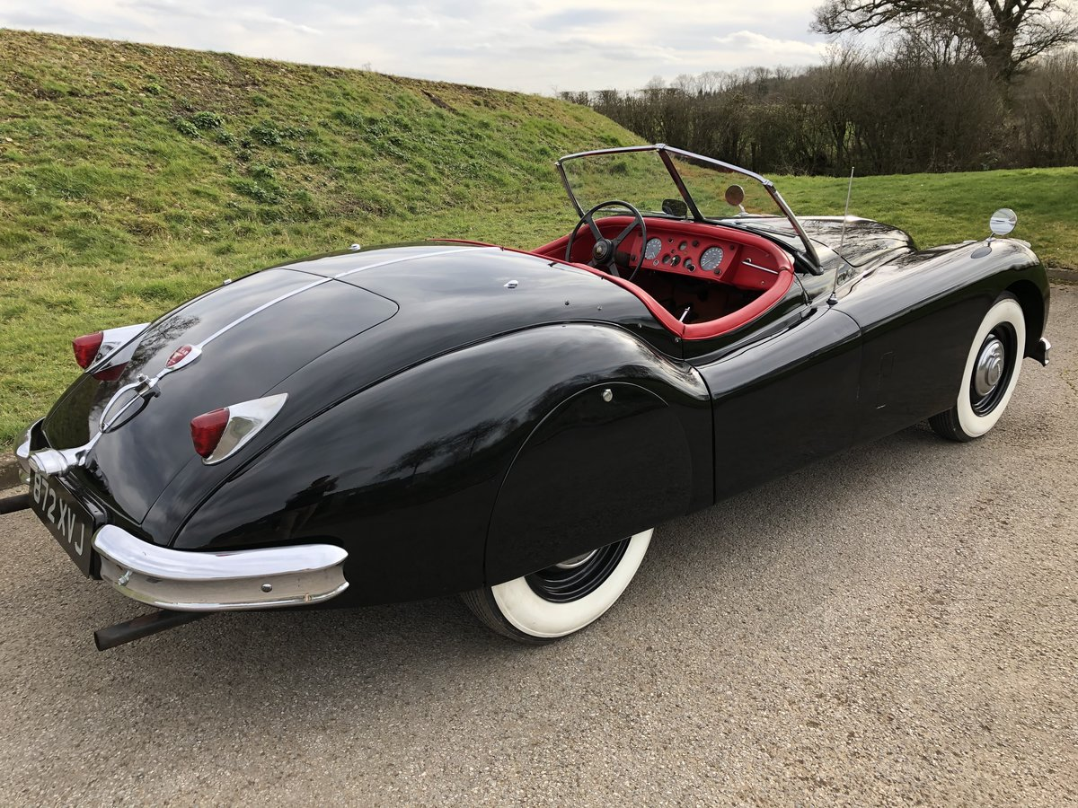 1956 Jaguar XK140 3.4 Roadster - LHD  For Sale (picture 5 of 6)