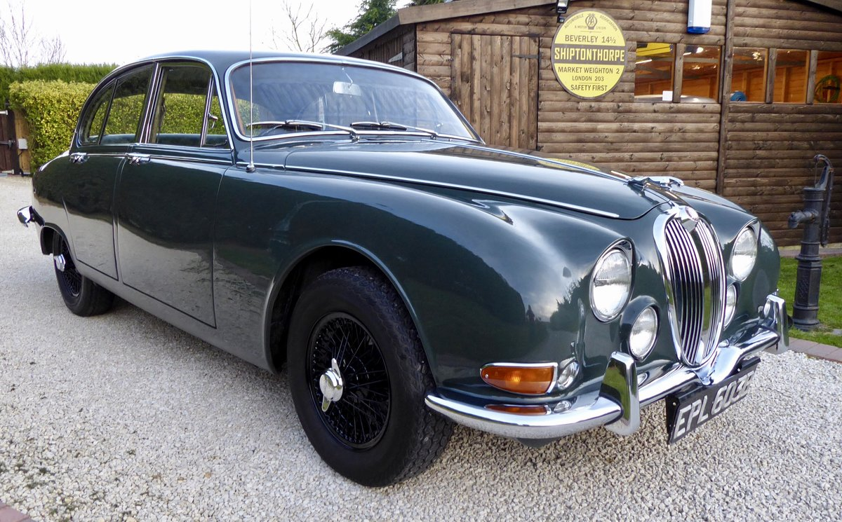 1964 Jaguar 3.8 S-Type Manual Overdrive PAS For Sale (picture 1 of 6)