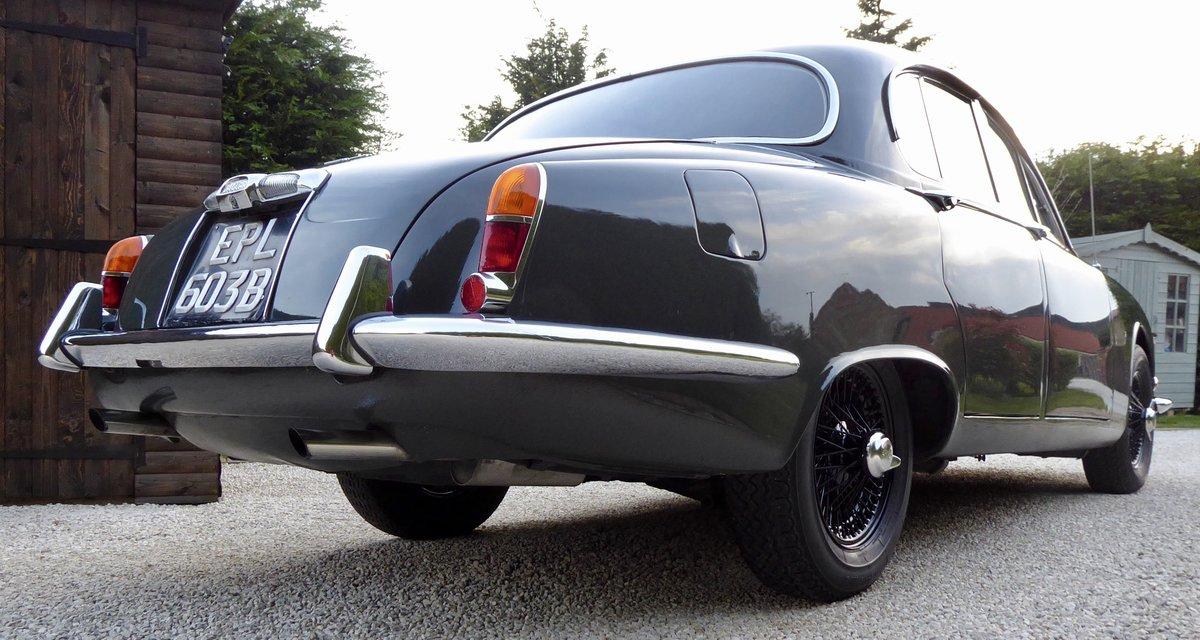 1964 Jaguar 3.8 S-Type Manual Overdrive PAS For Sale (picture 2 of 6)