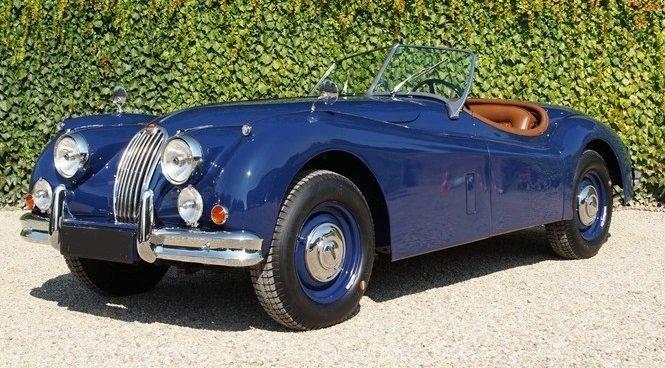 1954 Jaguar xk 140 ots roadster top condition, restored For Sale (picture 1 of 6)