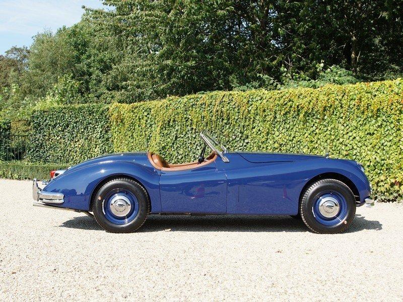 1954 Jaguar xk 140 ots roadster top condition, restored For Sale (picture 2 of 6)