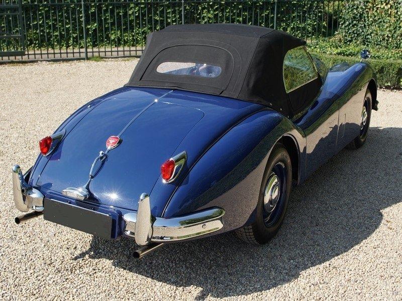 1954 Jaguar xk 140 ots roadster top condition, restored For Sale (picture 4 of 6)