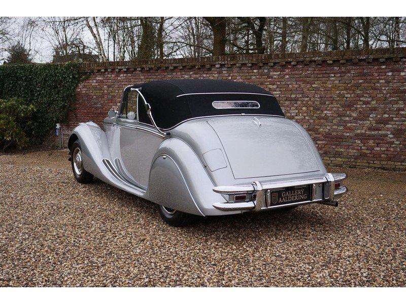 1951 Jaguar Mark V 3.5 Drophead Coupe LHD, Superb condition throu For Sale (picture 2 of 6)