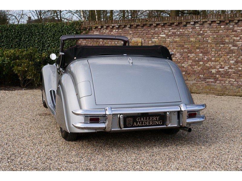 1951 Jaguar Mark V 3.5 Drophead Coupe LHD, Superb condition throu For Sale (picture 6 of 6)