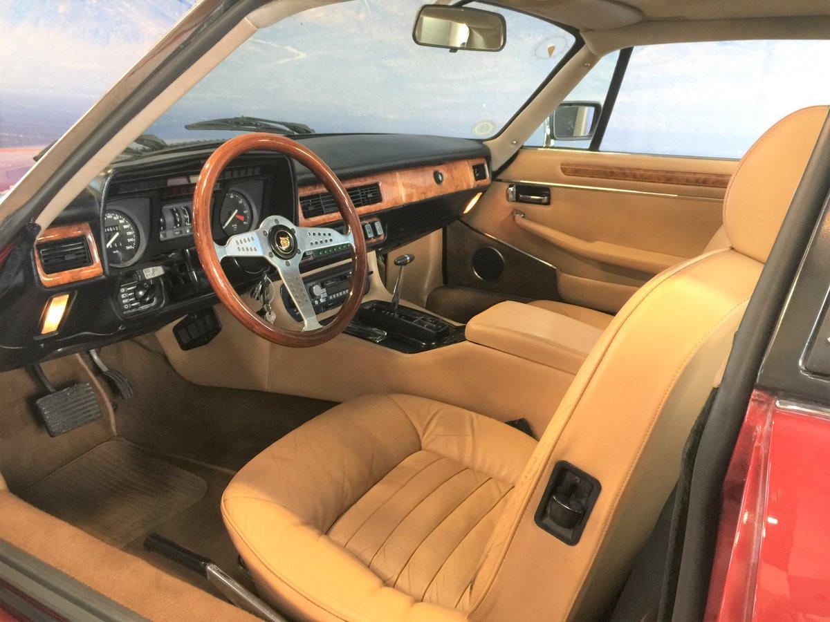 1986 Jaguar XJSC V12 'Targa'  For Sale (picture 4 of 6)