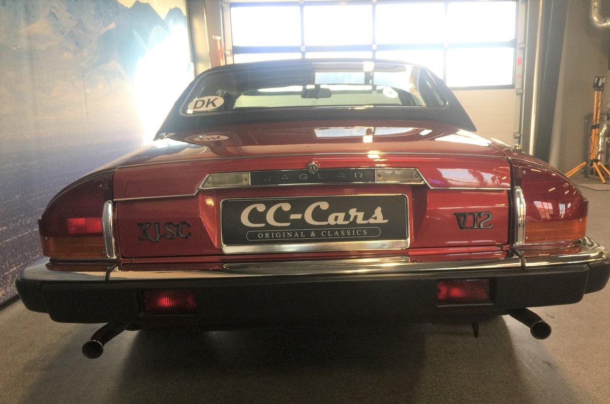 1986 Jaguar XJSC V12 'Targa'  For Sale (picture 6 of 6)