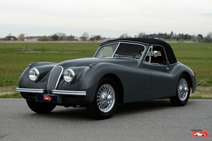 1953 Jaguar XK120 DHC Baltic Grey - Excellent Matching Numbers For Sale