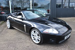 2008 Stunning Black Jaguar XKR, Black Leather, Low Mileage