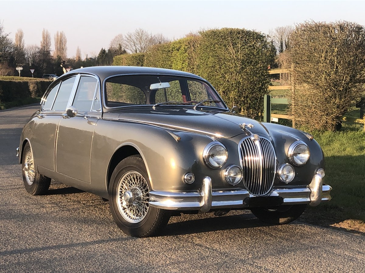 1963 Jaguar MK II 3.4 Manual with Overdrive For Sale (picture 1 of 6)