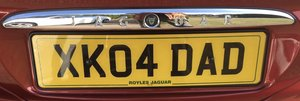 Picture of Number plate - XK 04 DAD