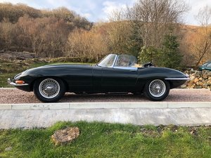 Jaguar 3.8 Roadster, U.K. Supplied