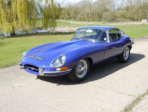 1966 Jaguar E Type Series 1 4.2 Coupe