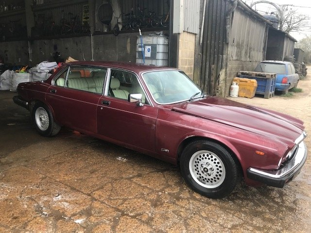 1986 JAGUAR XJ6 X10 COLEMAN MILNE LIMOUSINE For Sale (picture 1 of 6)