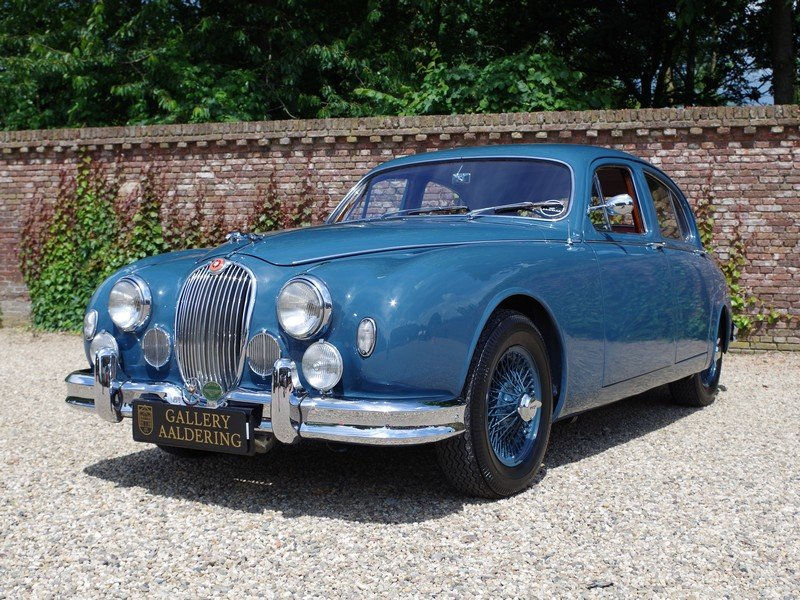1958 Jaguar MK1 3.4 top restored condition, matching numbers and  For Sale (picture 1 of 6)