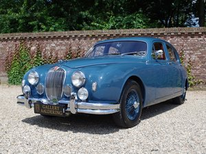 1958 Jaguar MK1 3.4 top restored condition, matching numbers and