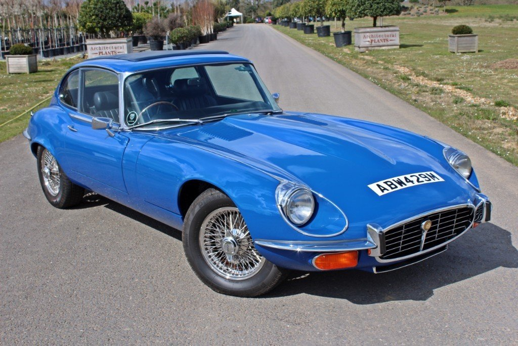 1973 Jaguar E-Type Series 3 2+2 For Sale (picture 1 of 10)