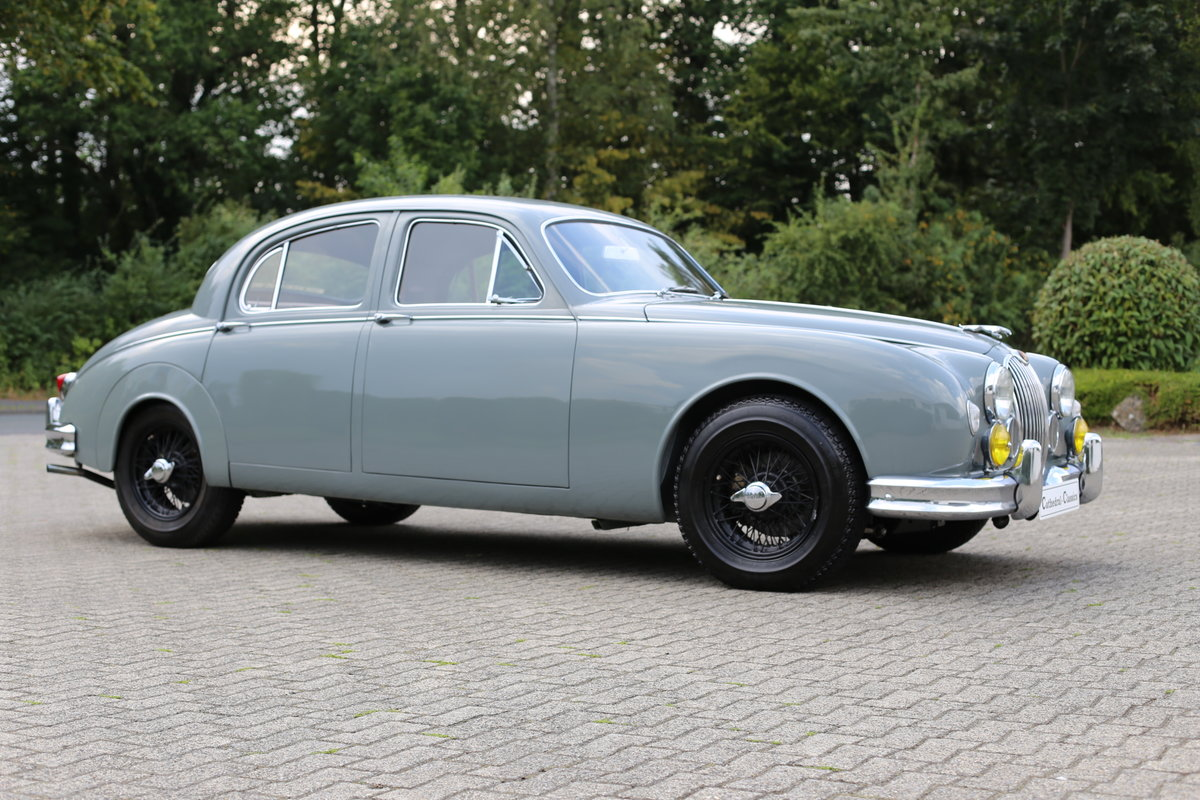 1959 Jaguar MK1 2.4 with exquisite French history SOLD (picture 1 of 6)