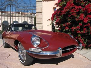 1968 JAGUAR E type 4.2 convertible 1/2 serie