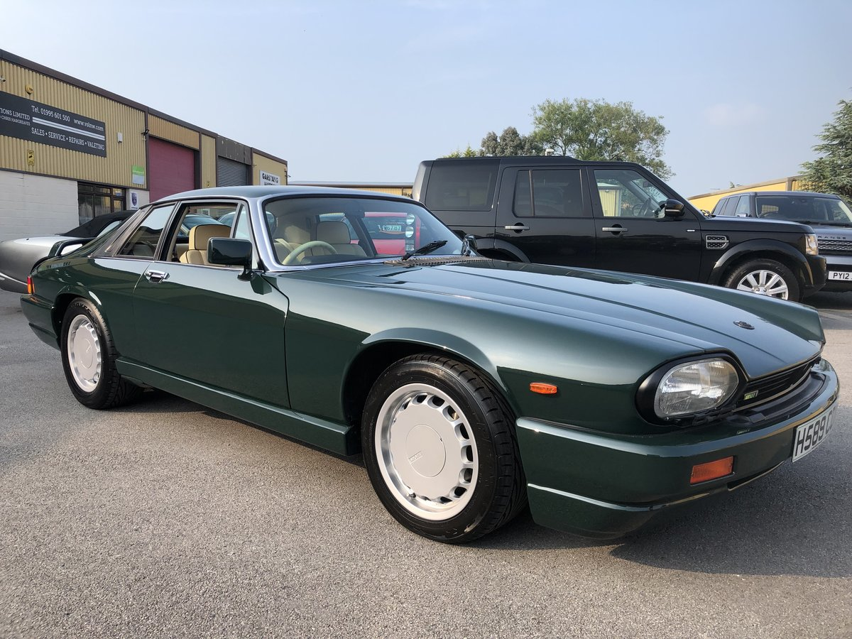 1991 Jaguar XJR-S Sport 6.0 V12 Coupe Automatic For Sale | Car And Classic