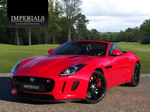 2013 Jaguar  F-TYPE  S 3.0 V6 SUPERCHARGED CABRIOLET 8 SPEED AUTO