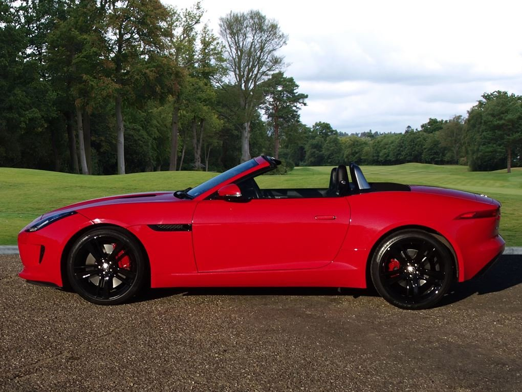 2013 Jaguar  F-TYPE  S 3.0 V6 SUPERCHARGED CABRIOLET 8 SPEED AUTO For Sale (picture 2 of 24)