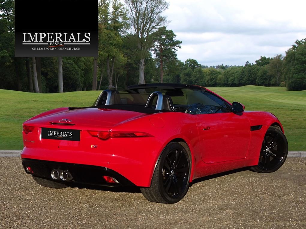 2013 Jaguar  F-TYPE  S 3.0 V6 SUPERCHARGED CABRIOLET 8 SPEED AUTO For Sale (picture 4 of 24)