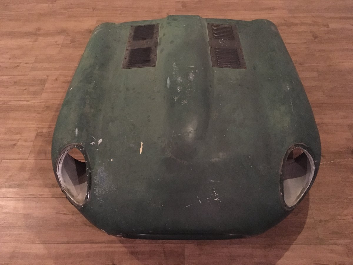 1965 Jaguar E-type bonnet lightweight polyester complete For Sale (picture 1 of 6)