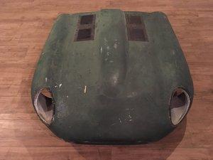 Jaguar E-type bonnet lightweight polyester complete