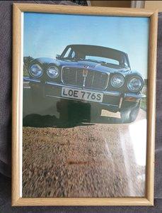 Original Jaguar XJ Framed Advert