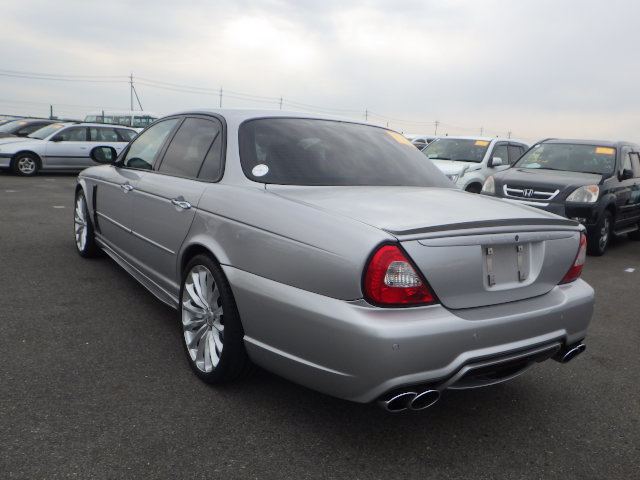 2003 Jaguar XJR 4.2 Supercharged 48k miles full WALD body styling For Sale (picture 3 of 6)