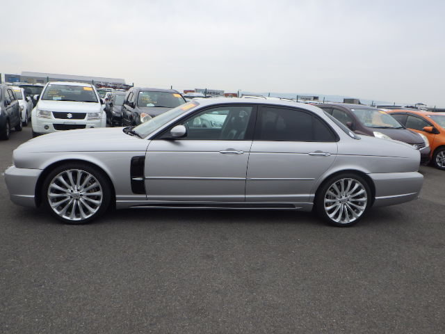 2003 Jaguar XJR 4.2 Supercharged 48k miles full WALD body styling For Sale (picture 5 of 6)