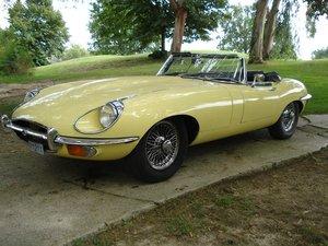 1971 Jaguar e type convertible