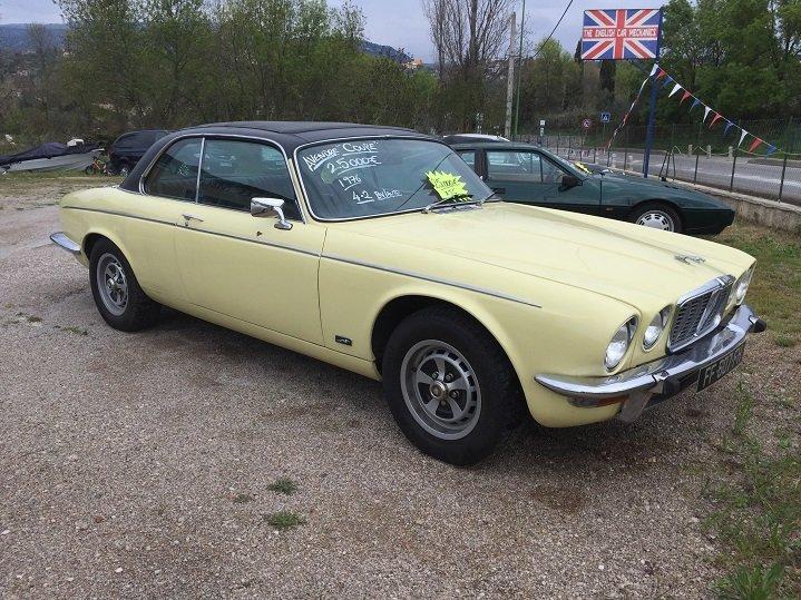 Jaguar xjc coupe 4.2 left hand drive