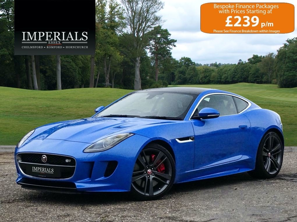 2016 Jaguar  F-TYPE  3.0 V6 SUPERCHARGED BRITISH DESIGN EDITION A For Sale (picture 1 of 6)