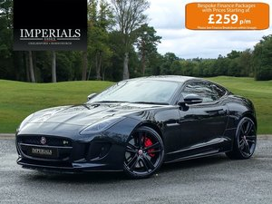 2015 Jaguar  F-TYPE  R 5.0 V8 SUPERCHARGED AWD COUPE 2016 MODEL 8 For Sale