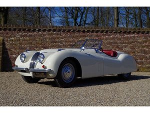 1951 Jaguar XK 120 OTS ,Single family owner since 78, Matching For Sale