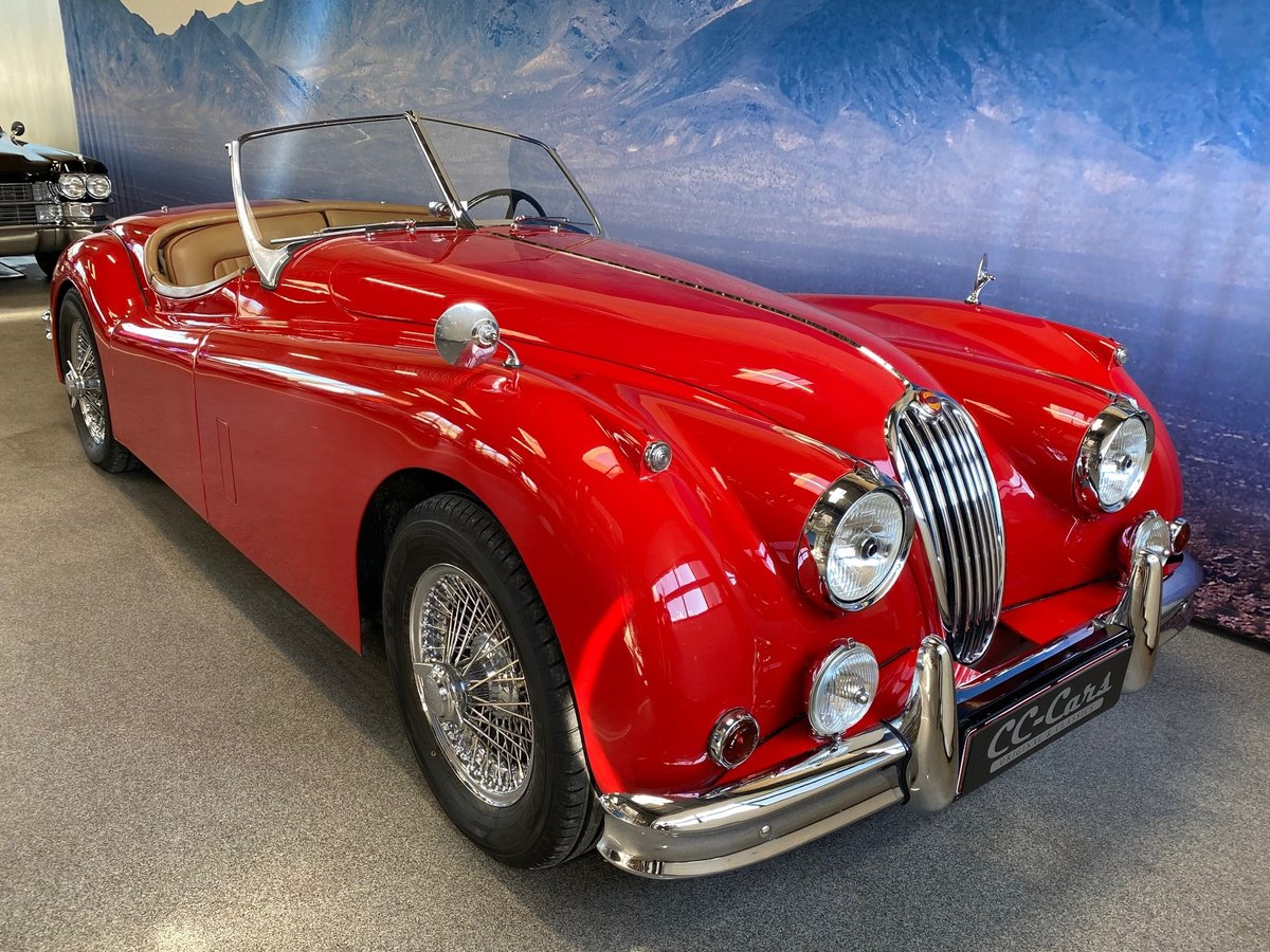 1955 Jaguar XK 140 OTS  For Sale (picture 1 of 6)
