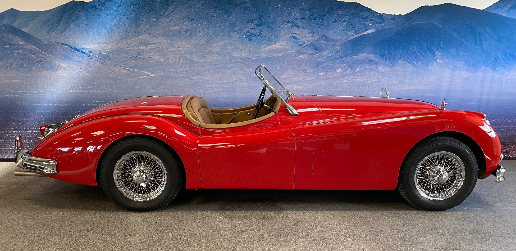 1955 Jaguar XK 140 OTS  For Sale (picture 2 of 6)