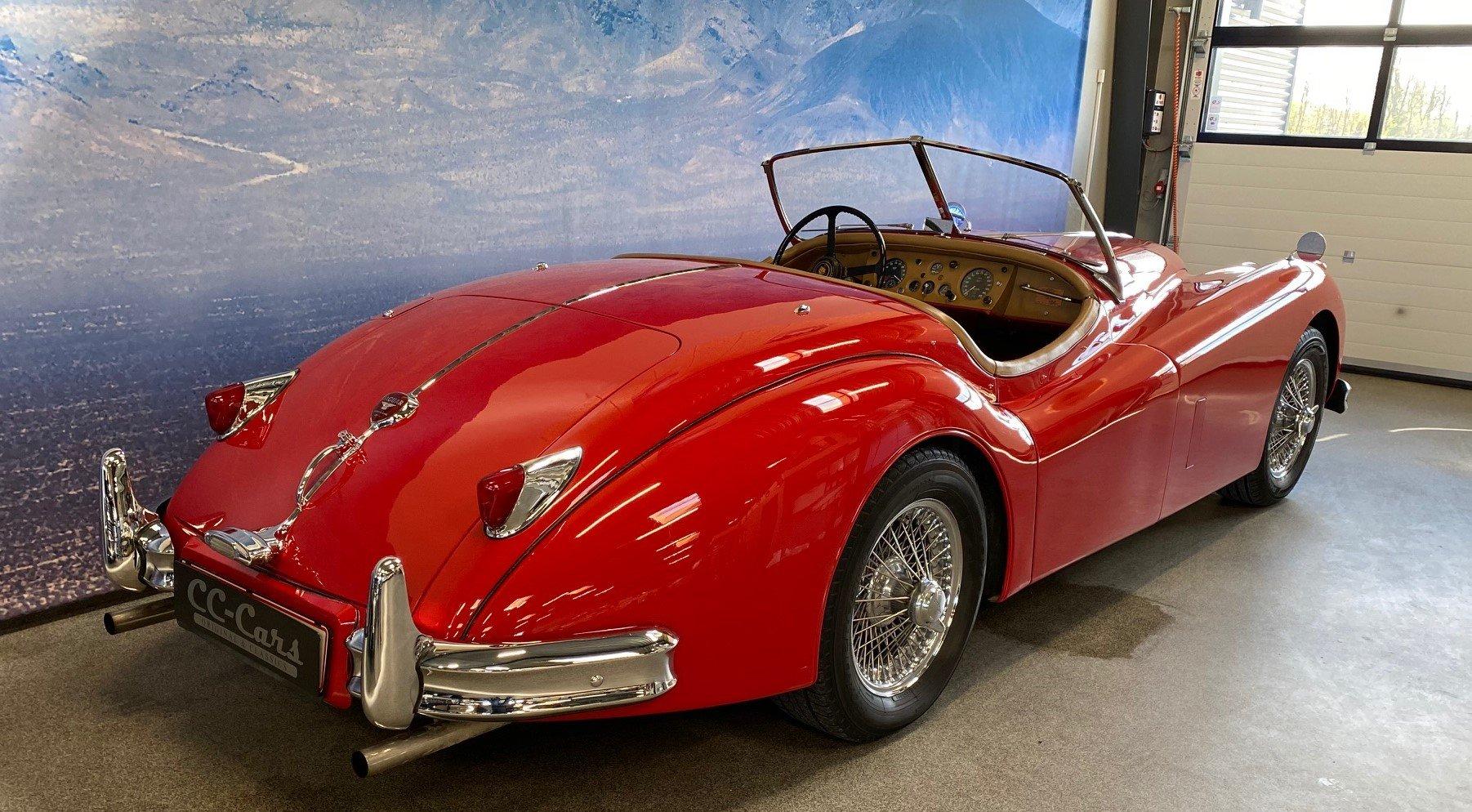 1955 Jaguar XK 140 OTS  For Sale (picture 3 of 6)