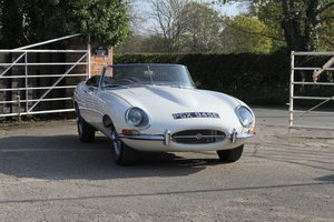 Jaguar E-Type Series I 4.2 Roadster, 62800 miles, UK RHD