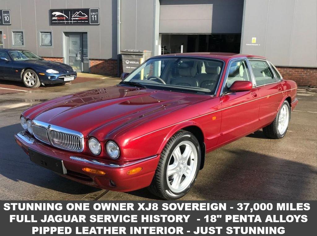 2000 W JAGUAR XJ 4.0 SOVEREIGN V8 SWB  For Sale (picture 1 of 6)