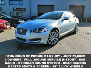2013 13 JAGUAR XF 2.2 D PREMIUM LUXURY 4d 200 BHP For Sale